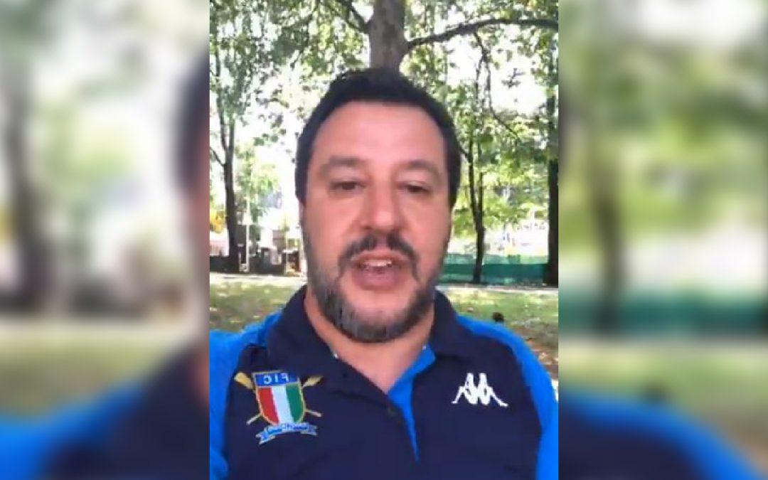 VIDEO – Matteo Salvini annuncia la sua visita in Calabria  Sarà a Limbadi per consegnare dei beni confiscati ai Mancuso
