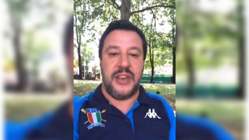 VIDEO - Matteo Salvini annuncia la sua visita in CalabriaSarà a Limbadi per consegnare dei beni confiscati ai Mancuso