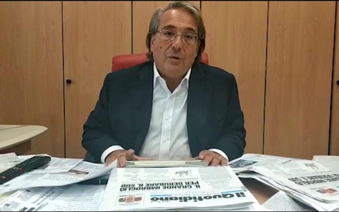 VIDEO – L'Affondo di Napoletano: «L'Europa ha bisogno di un uomo con il carisma di Mario Draghi»