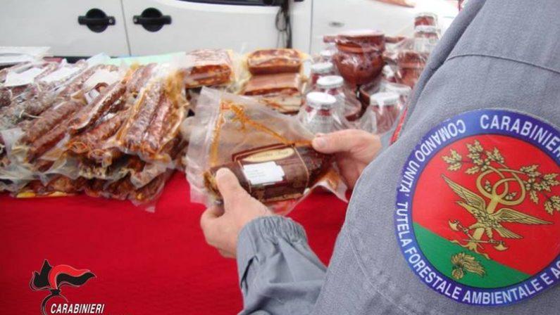 Prodotti alimentari sequestrati nel ViboneseControlli nel mercato, mancava la tracciabilità