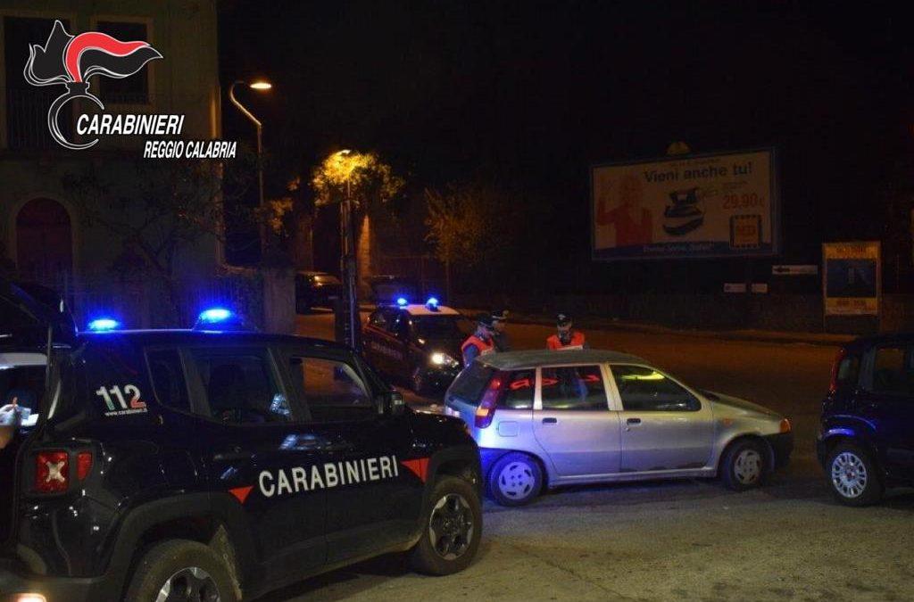 Controlli dei carabinieri per la movida nel Reggino  Ritirate le patenti per guida in stato di ebbrezza