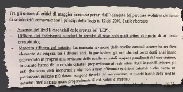 Documento esclusivo, i conti del federalismo fiscale incompiutoLa Ragioneria dello Stato scopre il bluff ai danni del Sud