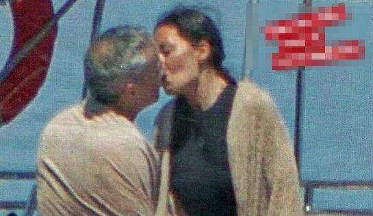 """Elisabetta Gregoraci e il primo bacio con Francesco  La showgirl calabrese """"sorpresa"""" col suo fidanzato"""