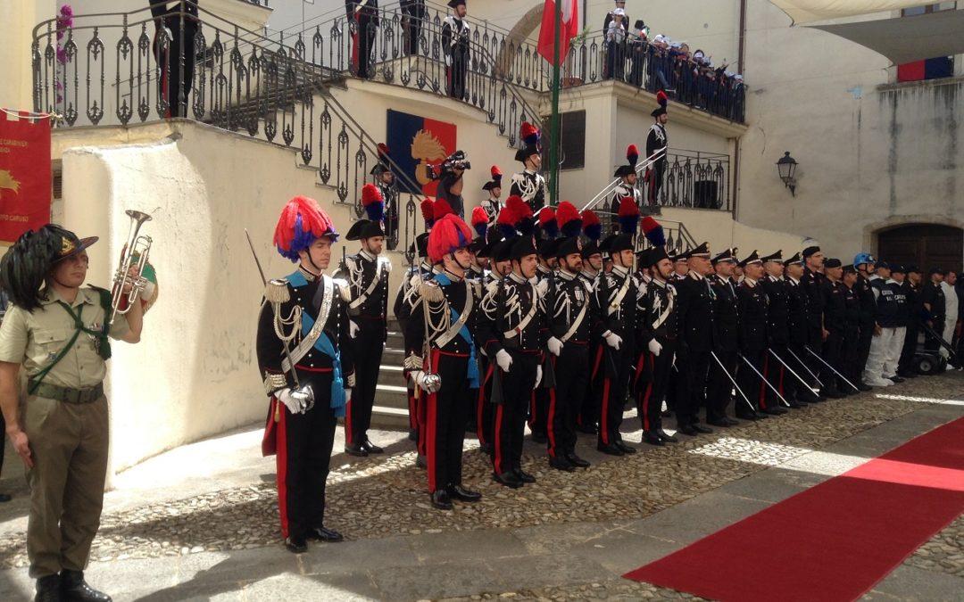 Carabinieri, celebrato in Calabria il 205° anniversario  «Impegno quotidiano per garantire la sicurezza»