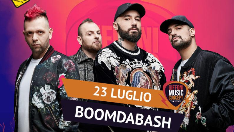 I Boomdabash arrivano al Giffoni Music Concept