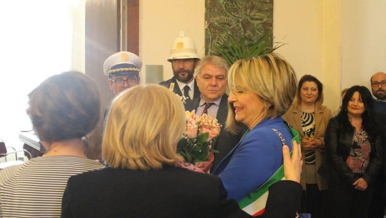 VIDEO - Comune di Vibo, l'intervento di insediamento del sindaco Maria Limardo
