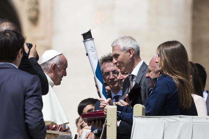 Universiadi: il Commissario Basile: emozione dal Papa