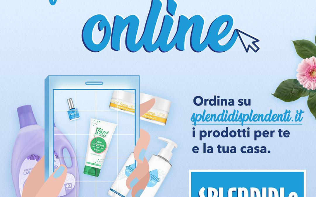 Splendidi! I prodotti Igiene & Bellezza sono a portata di click Splendidi e Splendenti, in partnership con ReStore, avvia il nuovo sito di eCommerce a domicilio