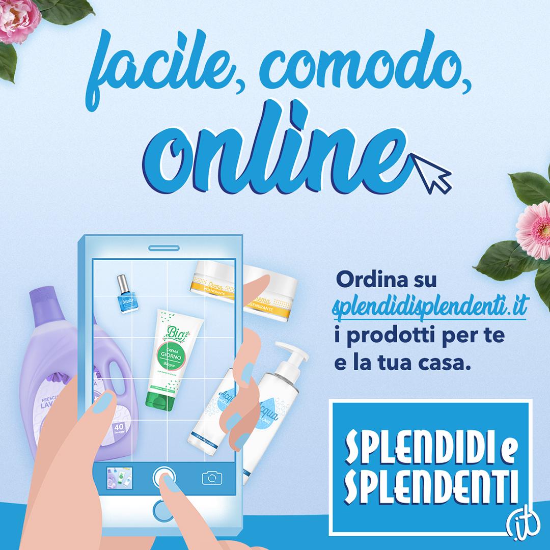 Splendidi! I prodotti Igiene&Bellezza a portata di clickSplendidi e Splendenti, in partnership con ReStore, avvia il nuovo sito di eCommerce a domicilio