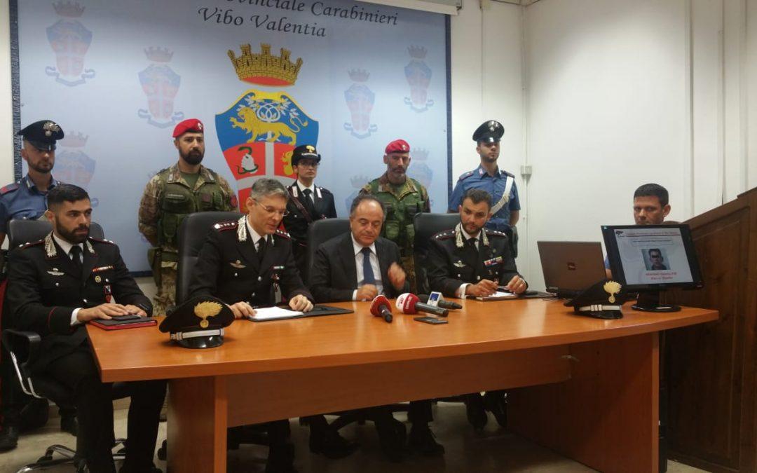 Scomparsa Francesco Vangeli, blitz dei carabinieri: un fermo  È ritenuto essere uno degli autori dell'omicidio del 25enne