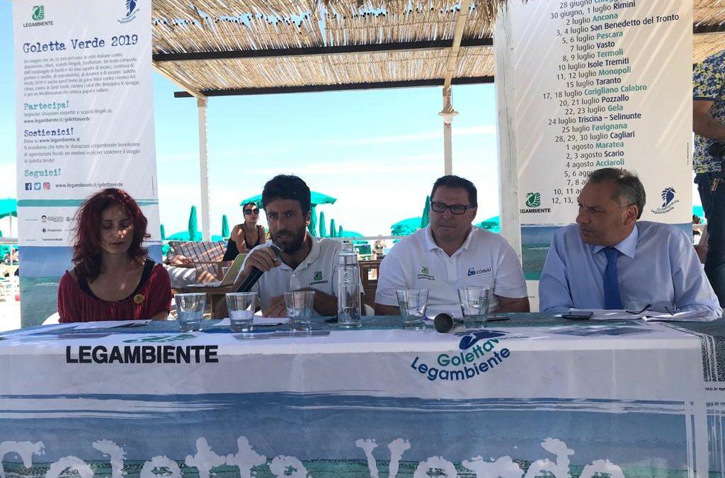 La conferenza stampa per i dati della Calabria