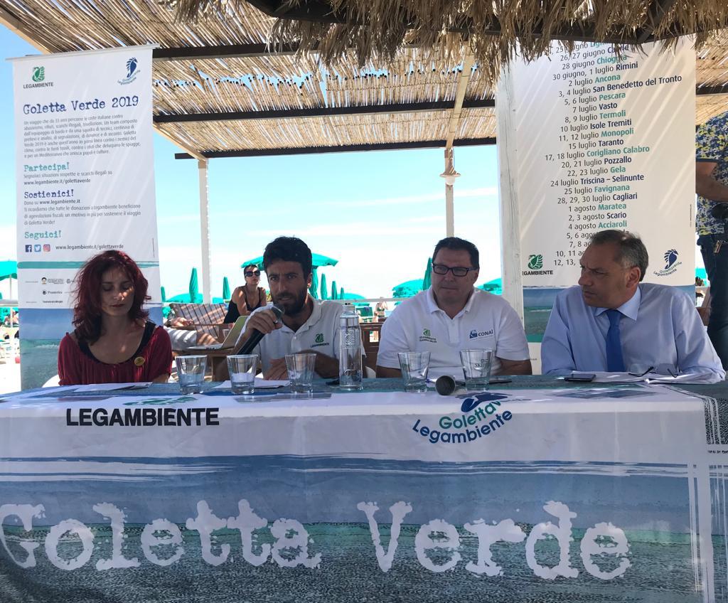 Goletta Verde in Calabria, 12 siti fortemente inquinatiTroppe le zone di mare che superano i limiti di legge
