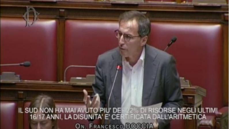 VIDEO - Francesco Boccia (PD) durante l'interpellanza parlamentare sullo Scippo al Sud