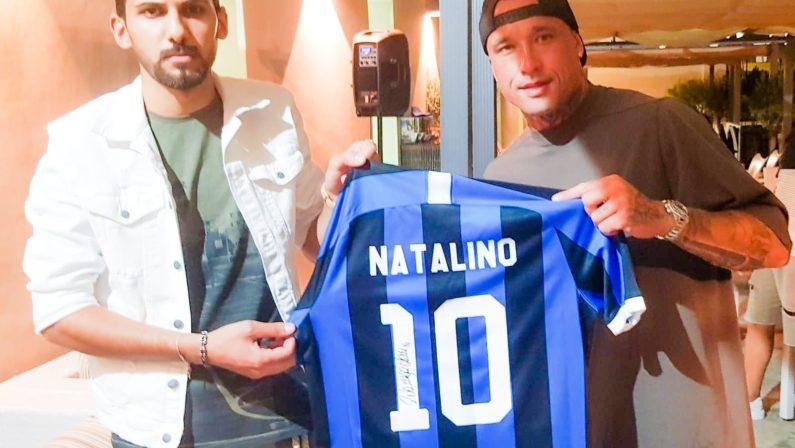 Soriano, Nainggolan ricorda il giovane Natale ChieraUna maglia per il ragazzo morto in un incidente stradale