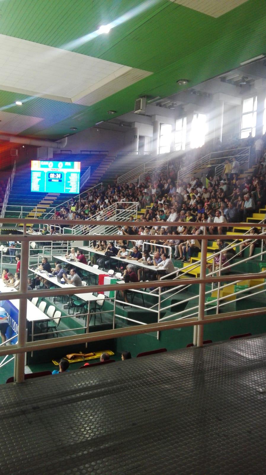 Universiadi, anche al Paladellmauro di Avellino si alza il sipario: in campo Italia Canada