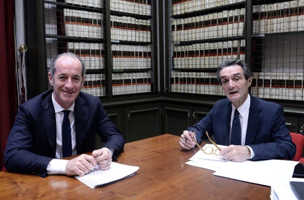 Luca Zaia e Attilio Fontana