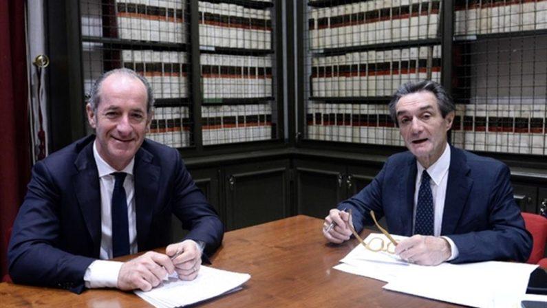 Basta con le balle di Veneto e Lombardia Non esistono residui fiscali delle Regioni, altro che extragettito
