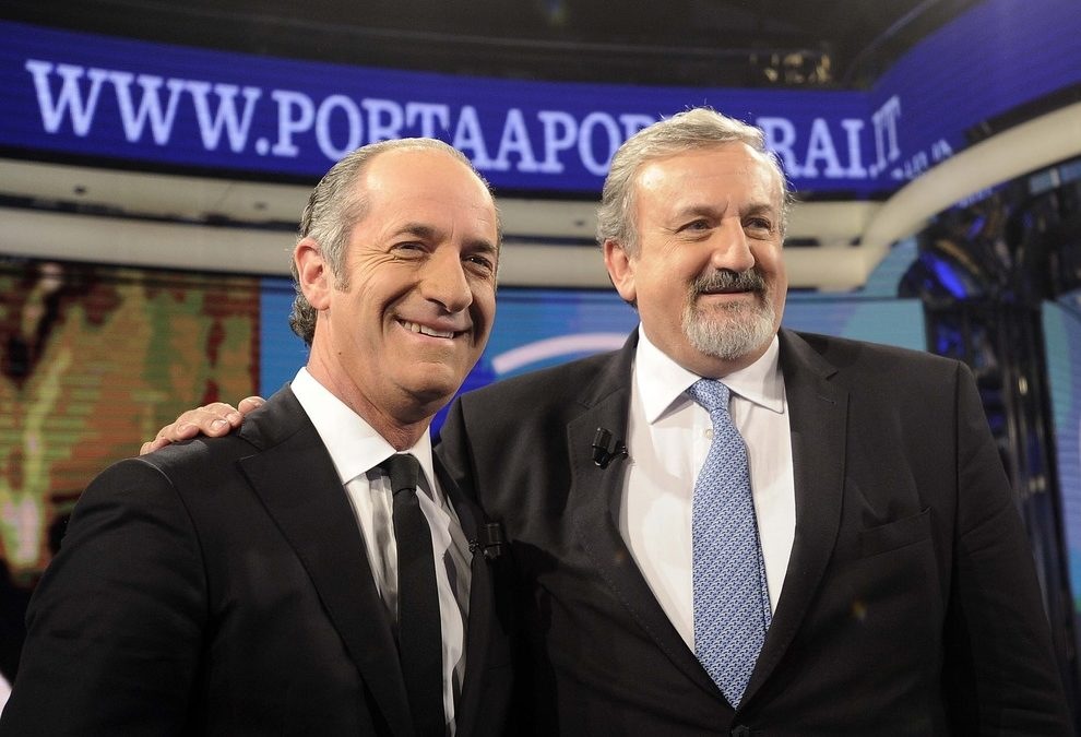 Luca Zaia e Michele Emiliano
