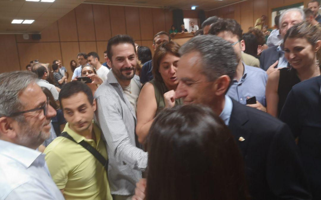 FOTO – Nicola Leone nuovo rettore dell'UniCal  Le immagini dei festeggiamenti nell'aula magna