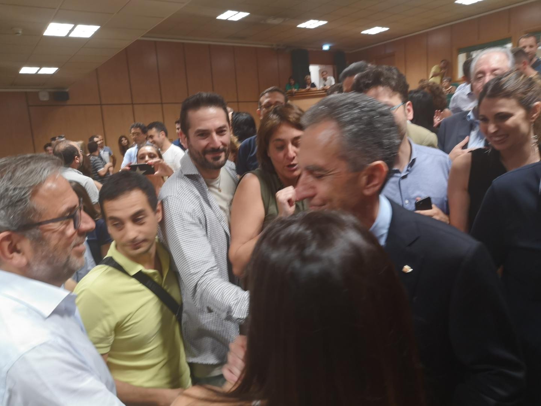 FOTO - Nicola Leone nuovo rettore dell'UniCalLe immagini dei festeggiamenti nell'aula magna
