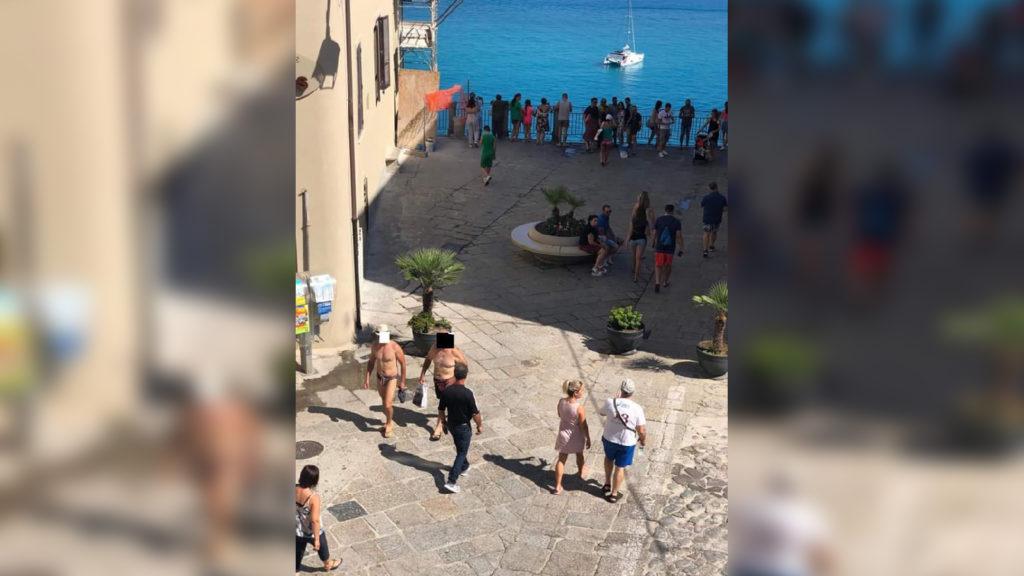 Estate a Tropea vietata per chi va a petto nudoIl Sindaco Macrì vieta l'outfit da spiaggia in città