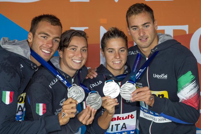 Nuoto, Acerenza porta in Basilicata un argento mondiale