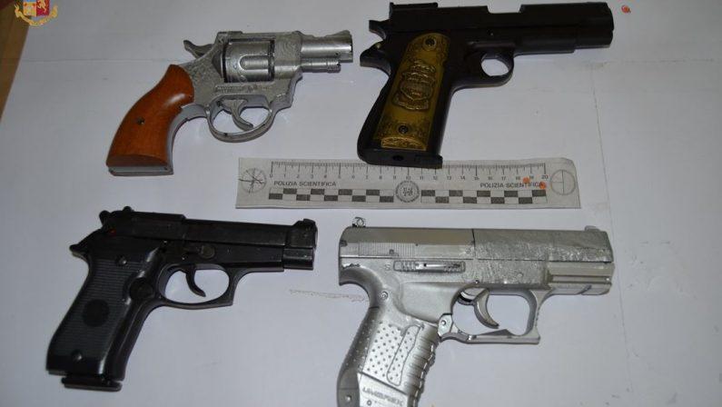 Conto troppo alto al ristorante e scatta la minacciaUtilizzate anche pistole, denunciati 4 giovani a Vibo