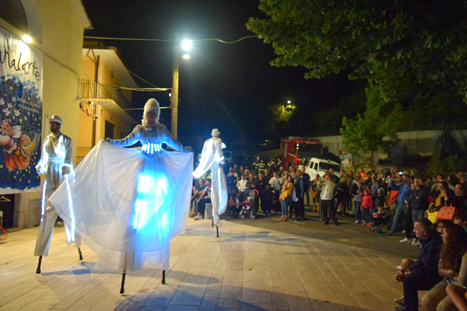 Boom di presenze per Canalarte, la magia del Luna Park conquista il pubblico