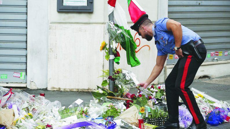 Carabiniere ucciso, oggi i funerali a Somma Vesuviana