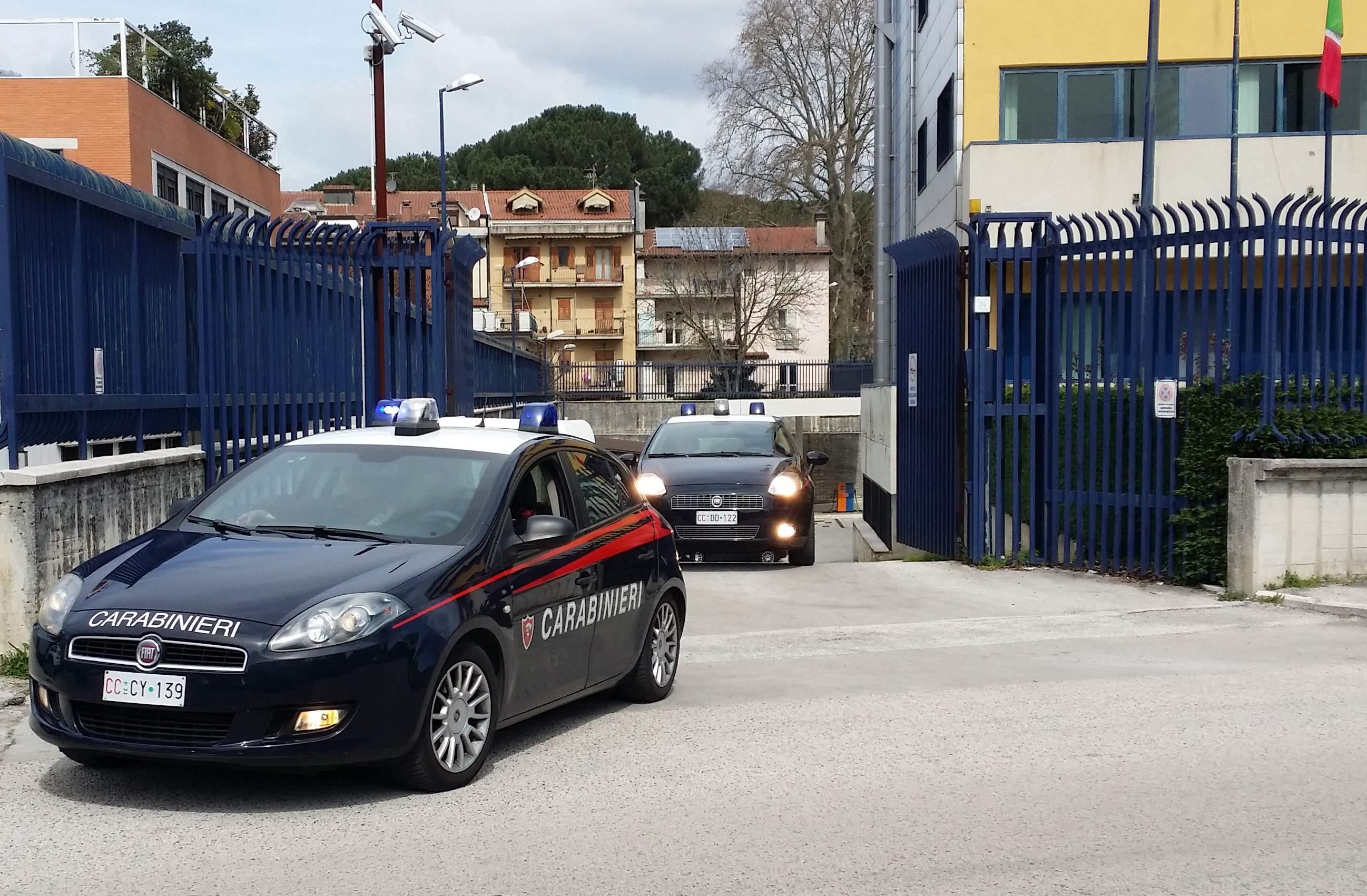 Avellino, arrestato 33enne per tentata estorsione