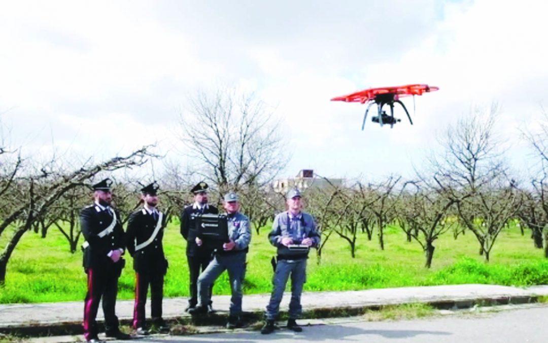 Terra dei fuochi arrivano i droni