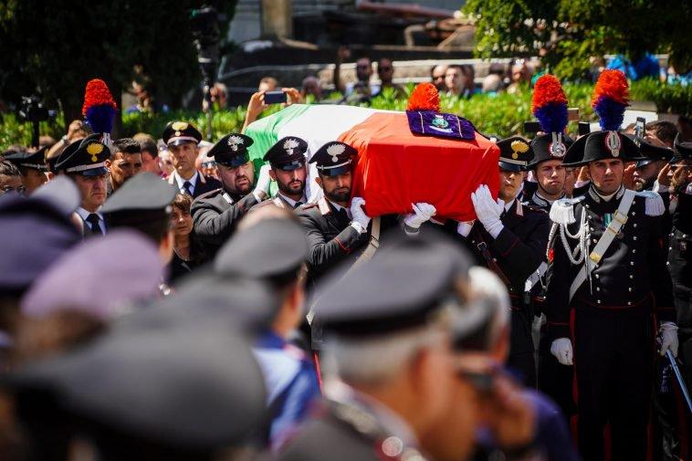 Carabiniere ucciso, l'omelia di Monsignor Marcianò: loStato impari da lui