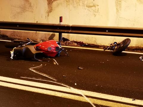 incidente paola moto