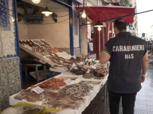 Sequestrato il pesce in vendita nel ViboneseA rischio la salute pubblica nella pescheria