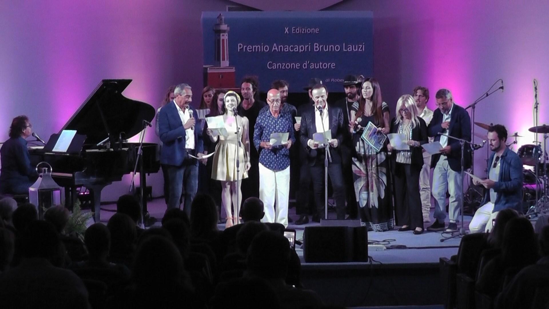 Premio Anacapri Bruno Lauzi, ecco i sei finalisti