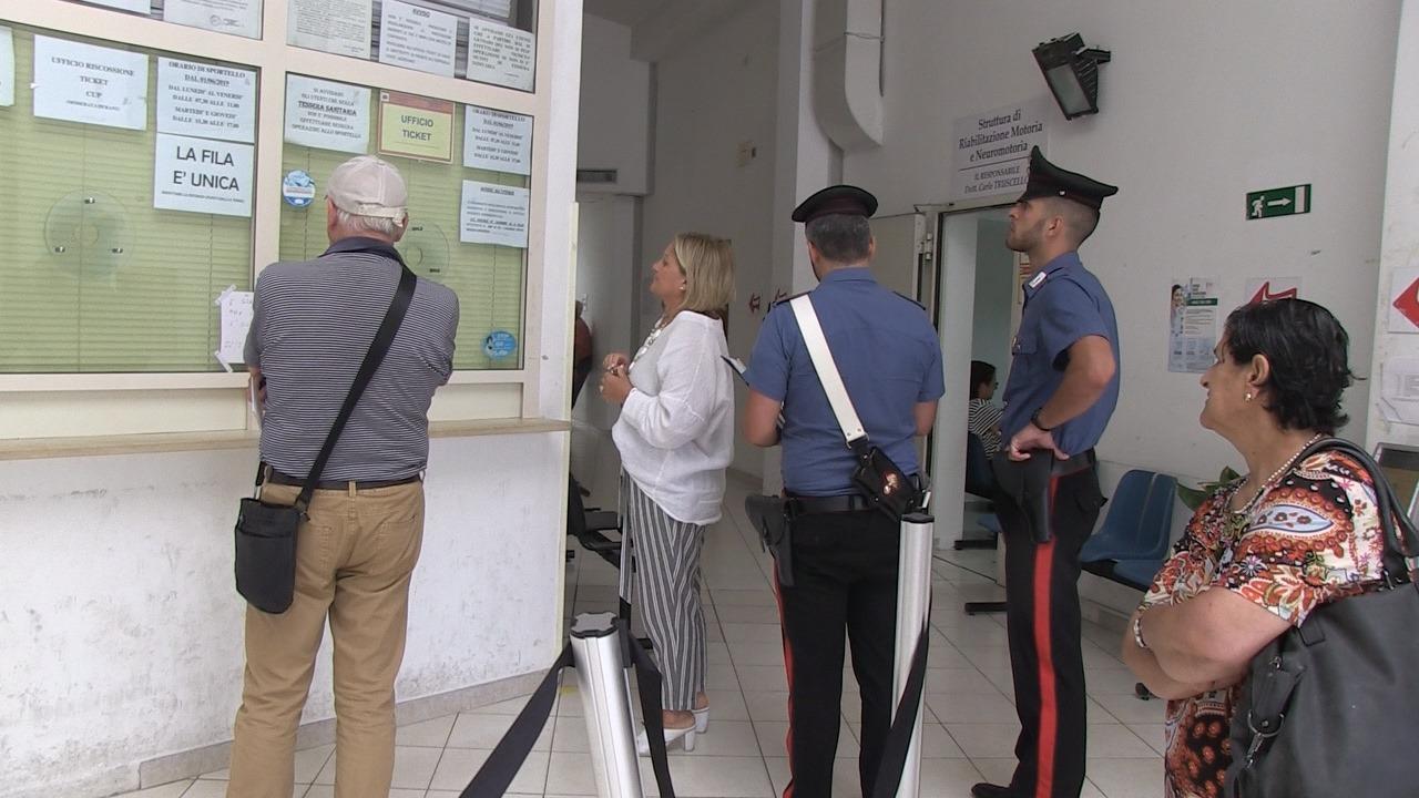 Sanità, ancora uffici chiusi per pagare il ticketDopo Tropea è toccato a Vibo: arrivano i carabinieri