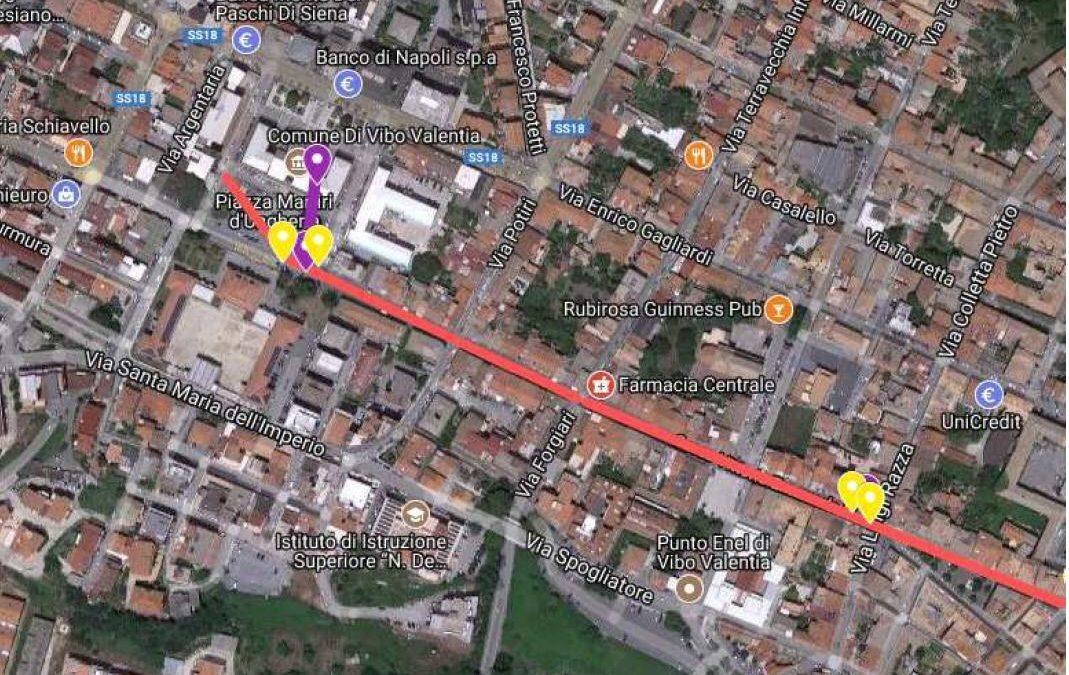 LE MAPPE – Wi fi gratis a Vibo, ecco le aree in cui è attivo il servizio