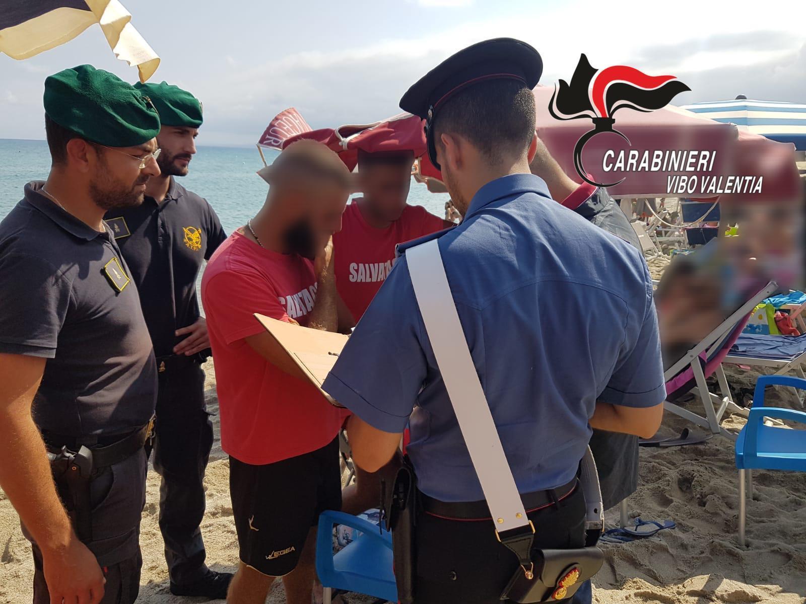 Maxi sequestro di lidi balneari abusivi nel viboneseSigilli a 7 strutture, sequestrati quasi 500 ombrelloni