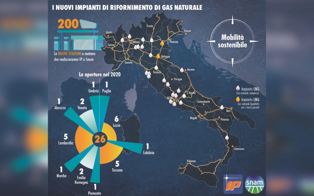 Aprirà a Cosenza l'impianto a Gas naturale del gruppo Ip-Snam  Sarà l'unico del gruppo aperto in Italia a partire dal 2020