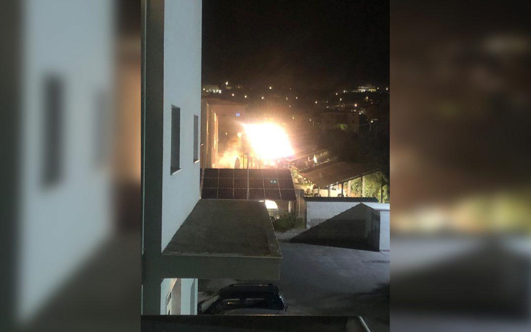 Incendio devasta il laboratorio Arpacal di Catanzaro  Danni ingenti quantificati in alcuni milioni di euro