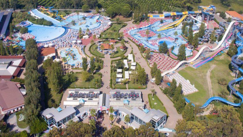 L'Acquapark dei record, un evento lungo 25 anni  Oltre 4 milioni di visitatori da tutto il Sud