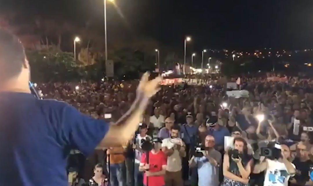 """Da dove viene lo """"staccaspina"""" di Salvini. l'attivista Ciccio Noto  """"Ho schiacciato il tasto di emergenza perché siamo in emergenza sociale"""""""