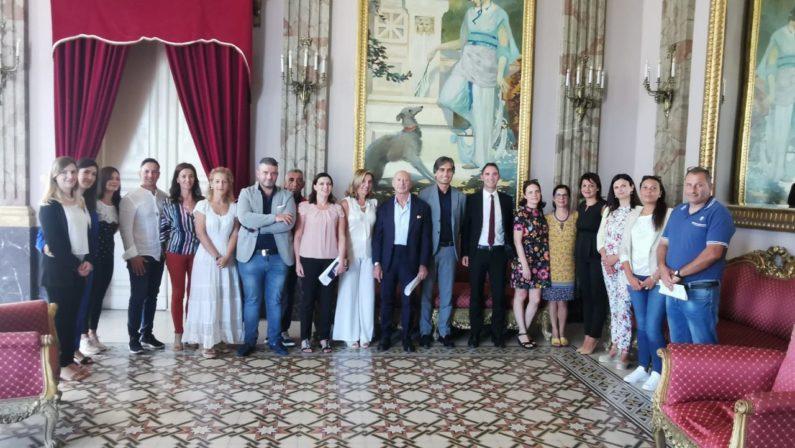 Nuove assunzioni alla città metropolitana di ReggioFirmati i contratti per sedici nuovi dipendenti