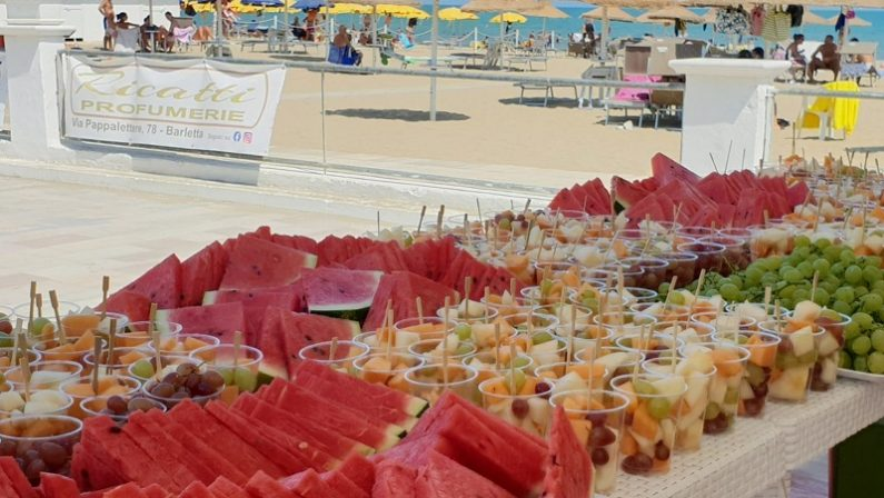 Gran finale nel Cilento di Fruit&Salad on the Beach