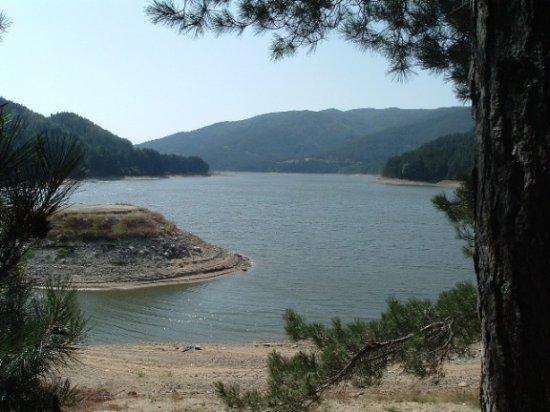 Si abbassa il livello del Lago Ampollino in SilaRischio per crisi idrica e turismo. A2A si difende