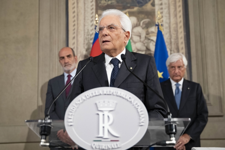 LA SUPPLENZA DI MATTARELLA