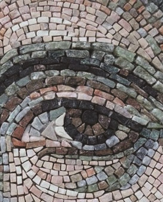 Particolare di un mosaico