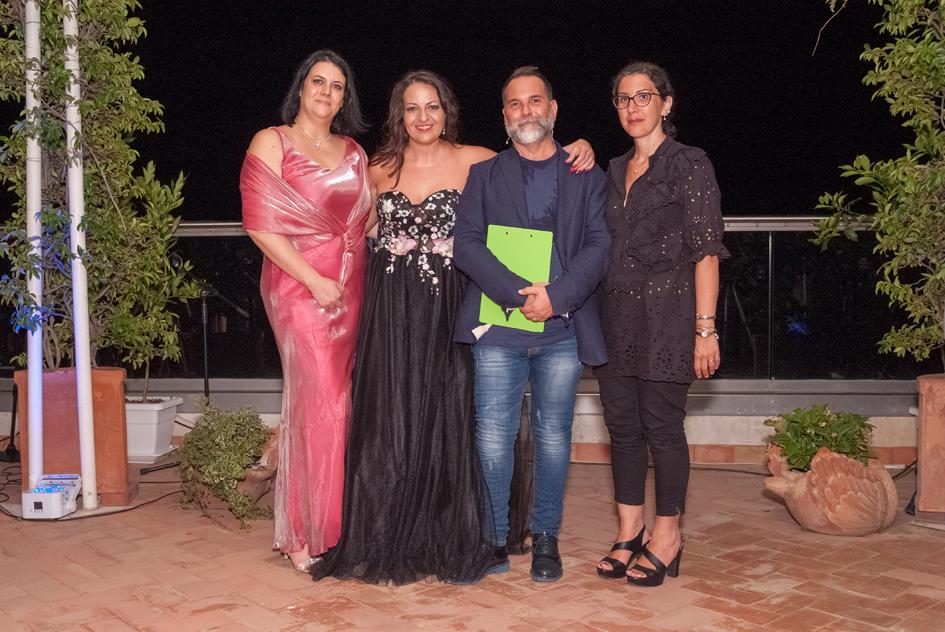"""I vincitori della cerimonia di premiazione del """"Premio Pabula Amoris"""""""