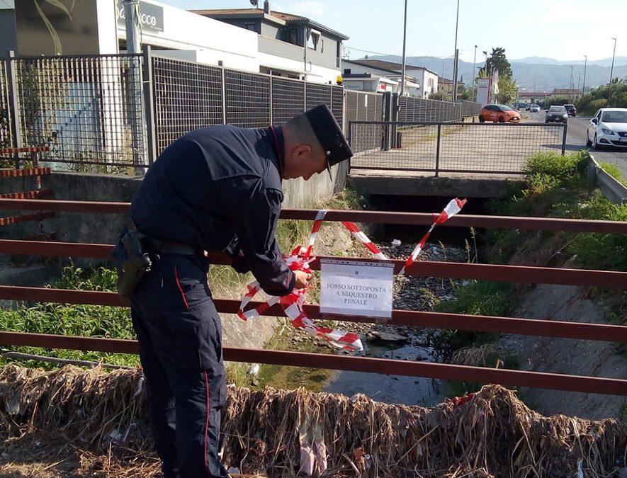 Liquami in mare, sequestrati condotta e fosso  La scoperta dei carabinieri a Corigliano Rossano
