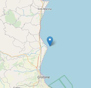 Scossa di terremoto sulla costa del CrotoneseMagnitudo 3.2, sisma avvertito dalla popolazione